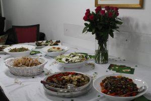 חברת קייטרינג גורמה לאירועים קטנים בבית פרטי - קיטרינג הד שף